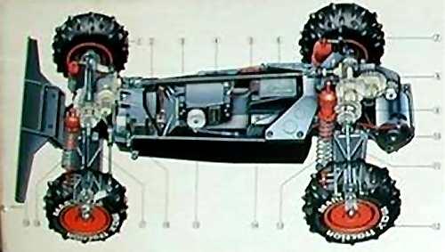 Marui Ninja Buggy Chassis
