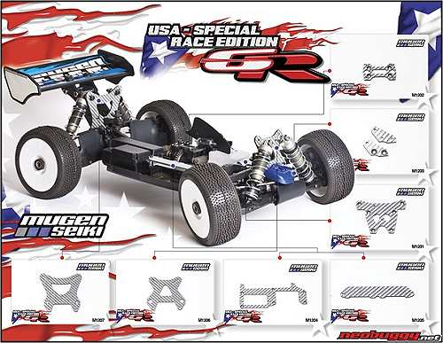 Mugen MBX6R US Spec Chassis