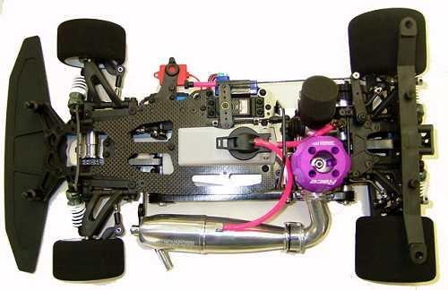 Mugen MRX4 Chassis