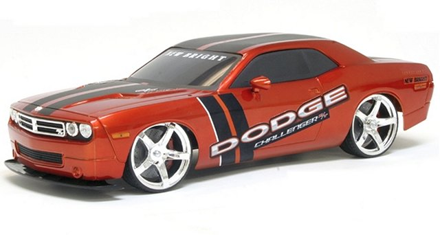 New-Bright Dodge Challenger - 1:10 Electric Touring Car