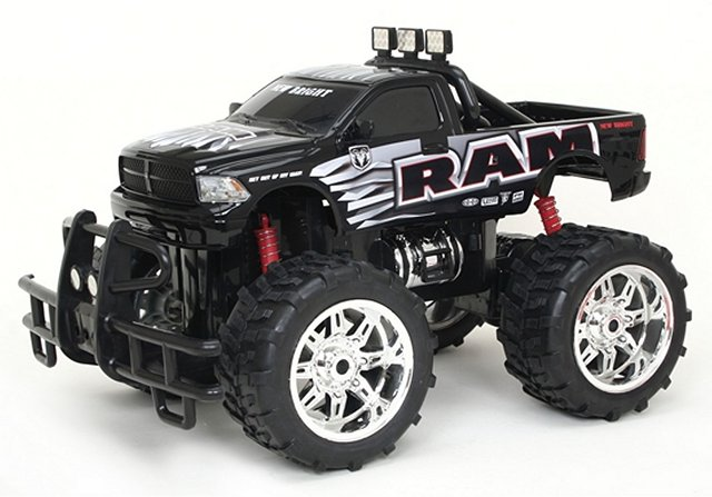 New-Bright Dodge Ram - 1:10 Electric Monster Truck