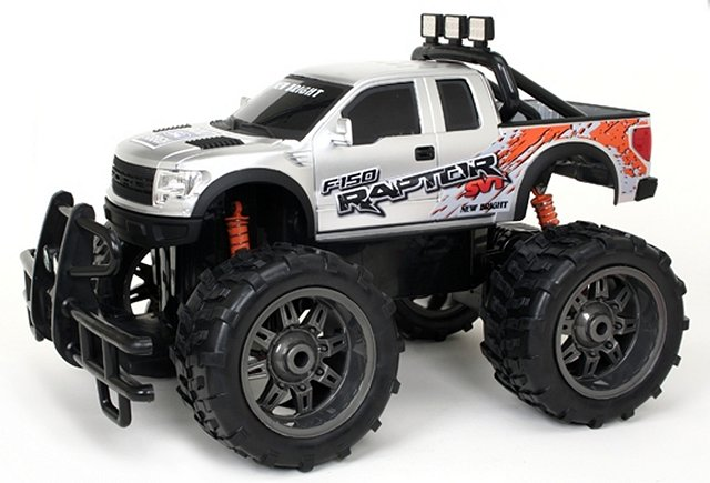 New-Bright Ford Raptor F-150 SVT - 1:10 Electric Monster Truck