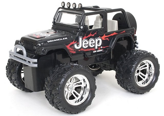 New-Bright Jeep Wrangler - 1:16 Electric Monster Truck