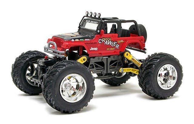 New-Bright Jeep Crawler - 1:18 Electric Rock Crawler