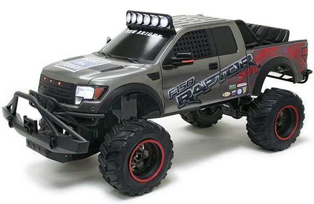 New-Bright Ford F150 Raptor R - 1:6 Electric Monster Truck