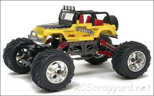 New-Bright Jeep Crawler