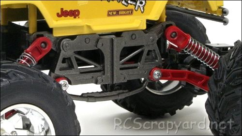 New-Bright Jeep Crawler Chassis