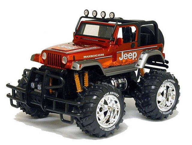 New-Bright Jeep+Rubicon