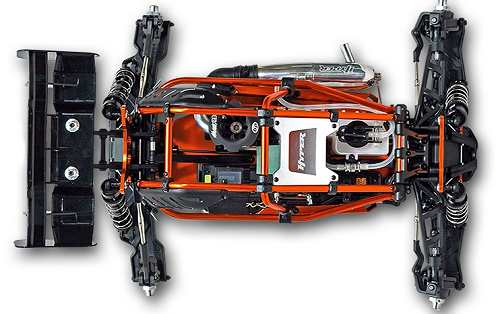 Ofna Hyper SS Cage Plus Truggy Chassis
