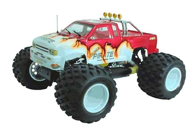 Ofna Monster-Pirate - 1:8 Nitro Monster Truck