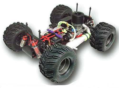 Ofna Pirate 10 Monster Truck Chassis