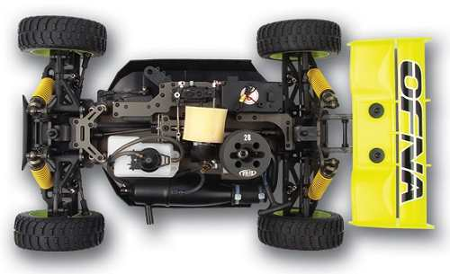 Ofna Ultra LX-One Buggy Chassis