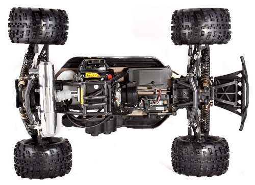 Redcat Racing Rampage XT Chassis