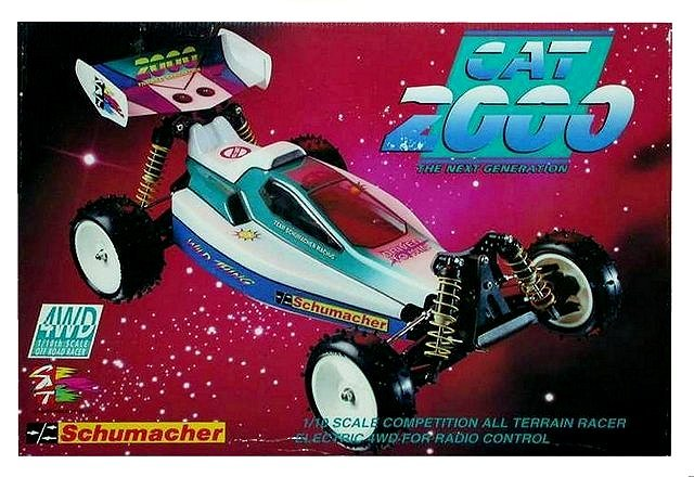 Schumacher Cat 2000 - 1:10 Electric RC Buggy