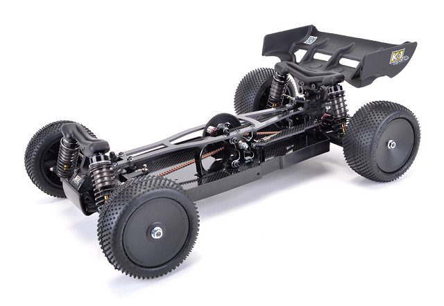 Schumacher Cat K1 Aero Chassis - 1:10 Electric RC Buggy