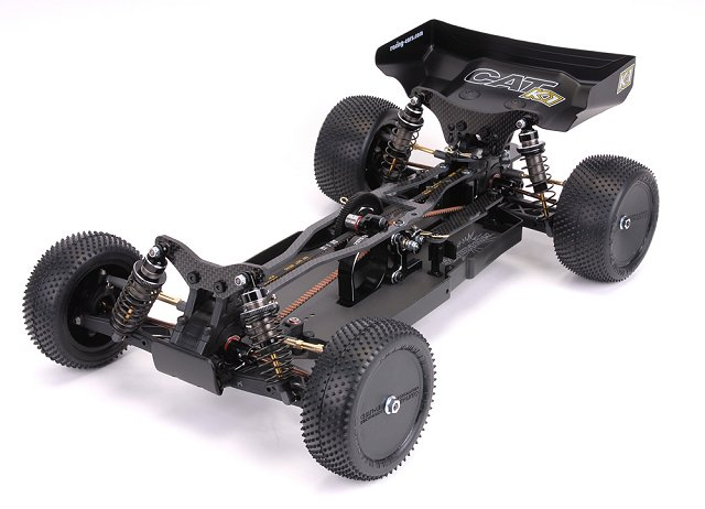 Schumacher Cat K1 Chassis - 1:10 Electric RC Buggy