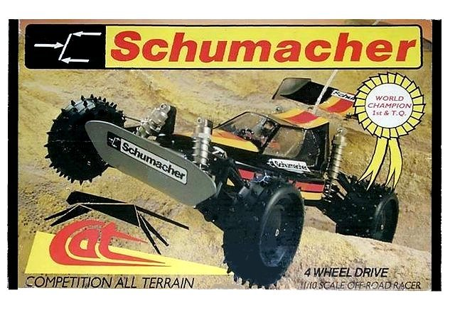 Schumacher Cat XLS - Vintage 1:10 Electric RC Buggy