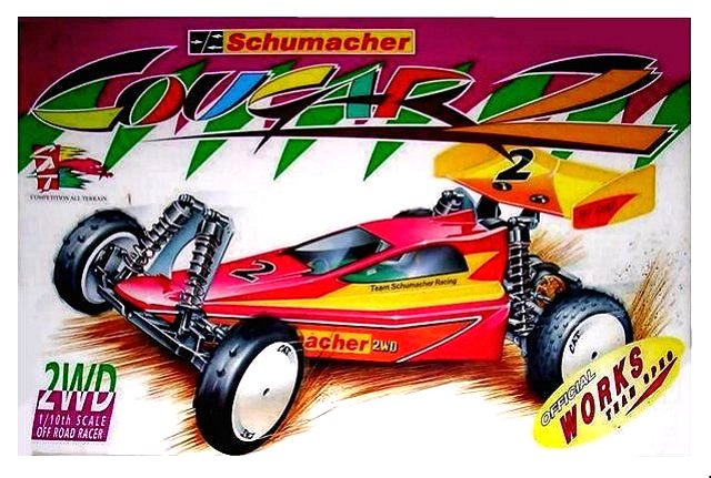 Schumacher Cougar 2 - Vintage 1:10 Electric 2WD RC Buggy
