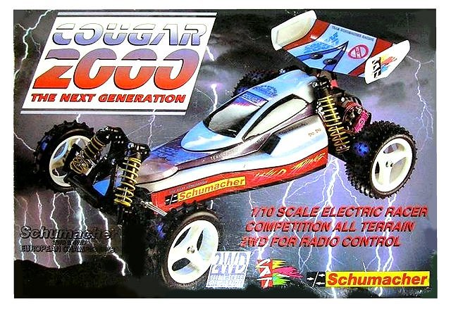 Schumacher Cougar 2000 95 - Vintage 1:10 Electric 2WD RC Buggy
