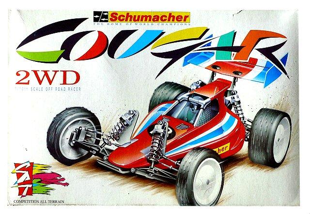 Schumacher Cougar - Vintage 1:10 Electric 2WD RC Buggy