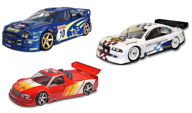 Schumacher Fusion 21 - 1:10 Nitro RC Touring Cars