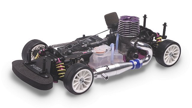 Schumacher Fusion 21 - 1:10 Nitro RC Touring Car