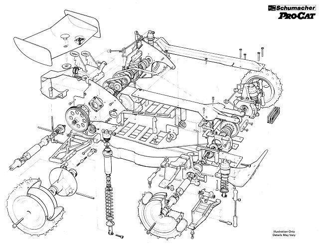 Schumacher ProCat Chassis