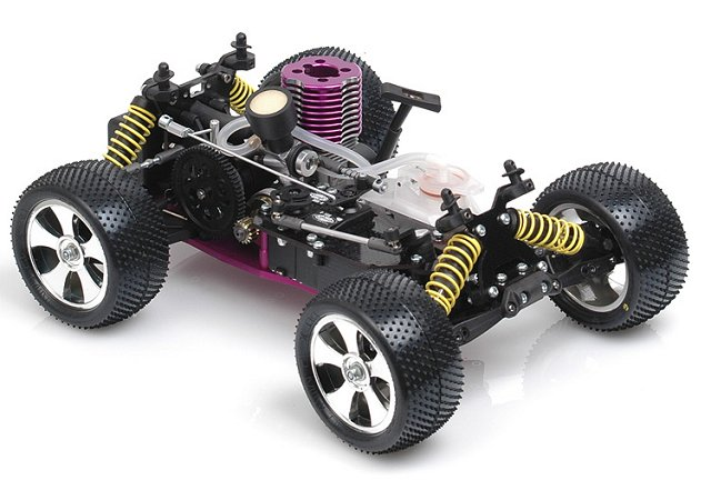 Schumacher Rascal Micro Nitro Chassis - 1:16 Nitro RC Truck