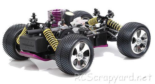 Schumacher Rascal - Micro Nitro