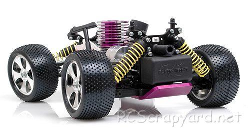 Schumacher Rascal - Micro Nitro Chassis