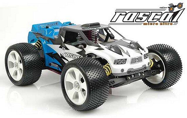 Schumacher Rascal Micro Nitro - 1:16 Nitro RC Truck