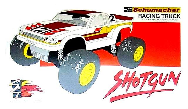 Schumacher Shotgun - 1:10 Electric RC Truck
