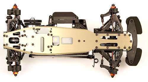 Serpent 733 TE Chassis