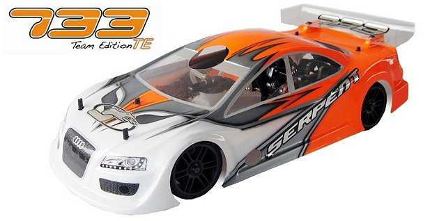 Serpent 733 TE (Team Edition) - 1:10 Nitro Touring Car