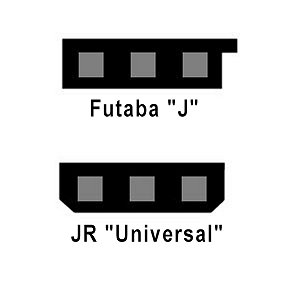 Servo Connector Types