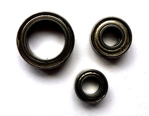 Steel Shielded Bearings