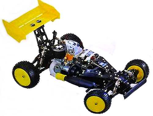 Thunder Tiger Challenger Pro Chassis