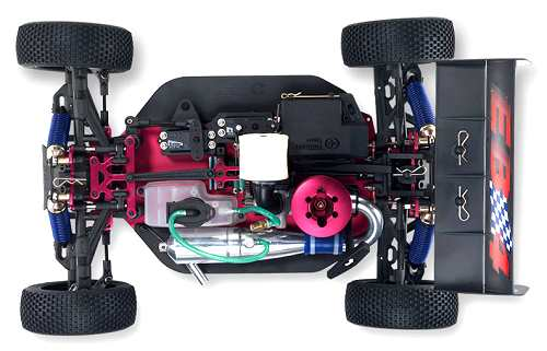 Thunder Tiger EB4 S2 Pro Chassis