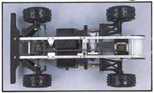 Thunder Tiger Silver Fox Chassis