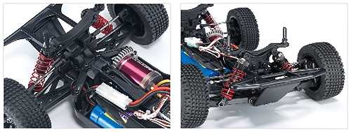 Thunder Tiger Sparrowhawk DT12 Chassis