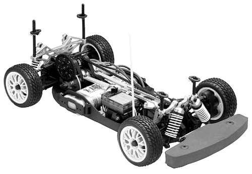 Thunder Tiger TS-4e Spost V2 Chassis