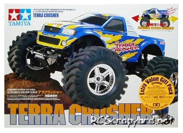 Tamiya Terra Crusher - 1:8 Nitro Monster Truck