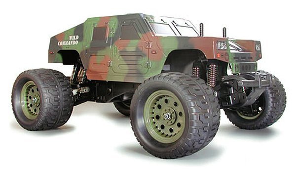 Tamiya Wild Commando - 1:8 Nitro Monster Truck