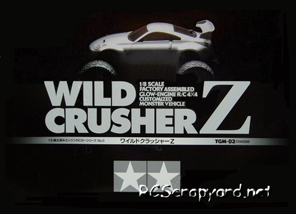 Tamiya Wild Crusher Z - 1:8 Nitro Monster Truck