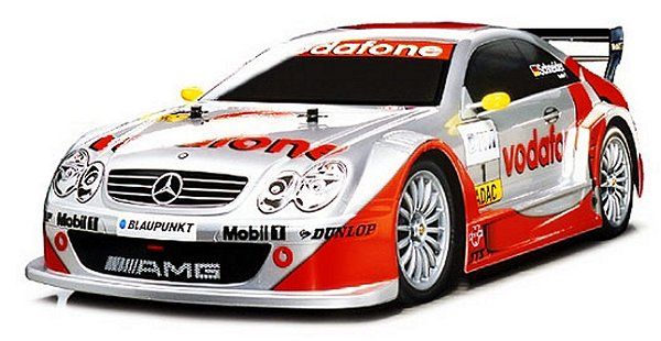 Tamiya CLK DTM 2002 Vodafone Mercedes - 43510 - 1:10 Nitro On Road