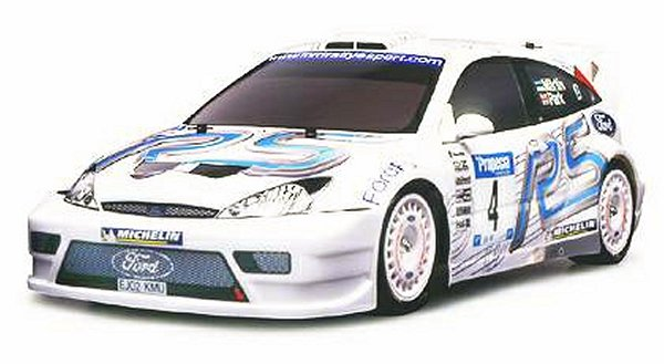 Tamiya Ford Focus RS WRC 03 - 43512 - 1:10 Nitro On Road