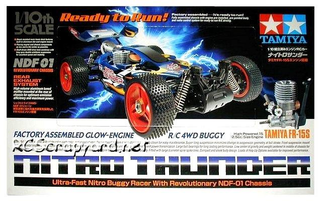Tamiya Nitro Thunder - 1:10 Nitro RC Buggy
