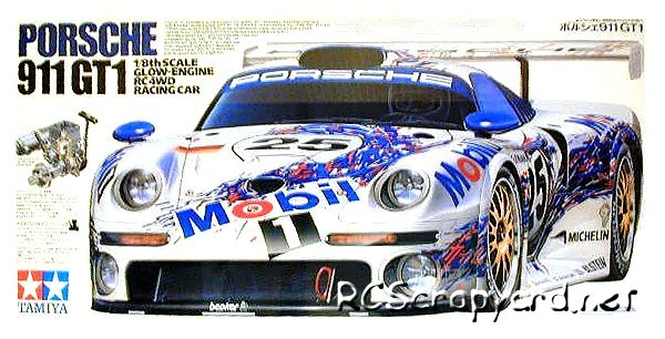 Tamiya Porsche 911 GT1 - 44006 - 1:8 Nitro On Road