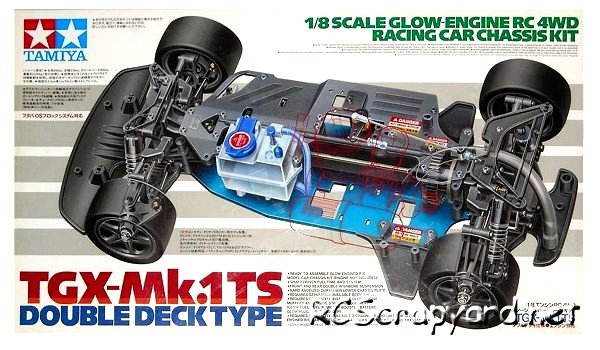 Tamiya TGX Mk1-TS Double Deck - 44010 - 1:8 Nitro On Road