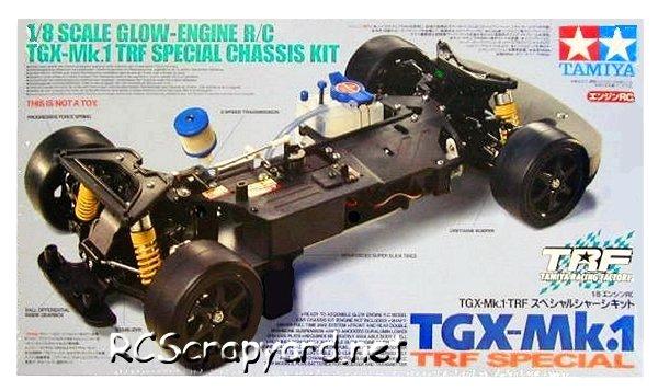 Tamiya TGX Mk1 TRF Special - 44015 - 1:8 Nitro On Road